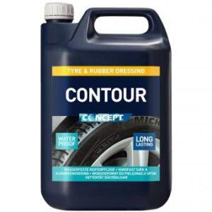 Waterproof tire gloss