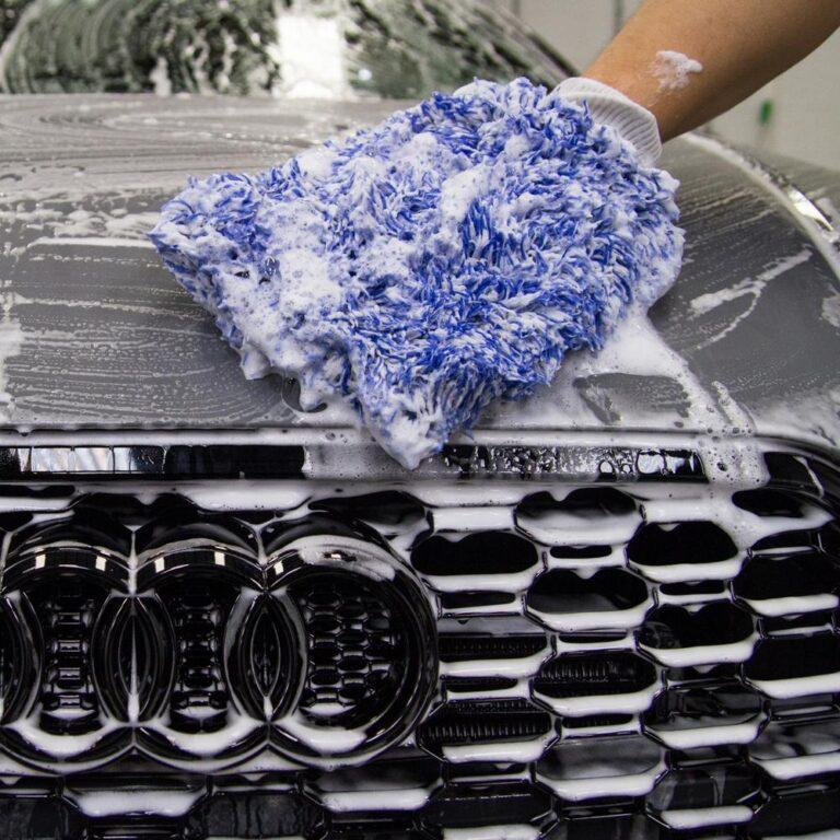 auto pesemine šampooniga