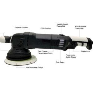 Car polisher auto polishing machine DA 15mm 21mm 5