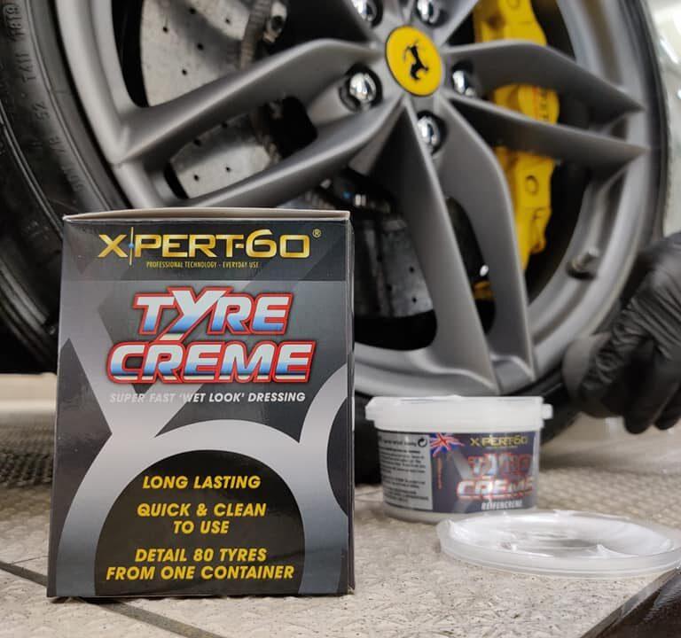tire shine tire creme
