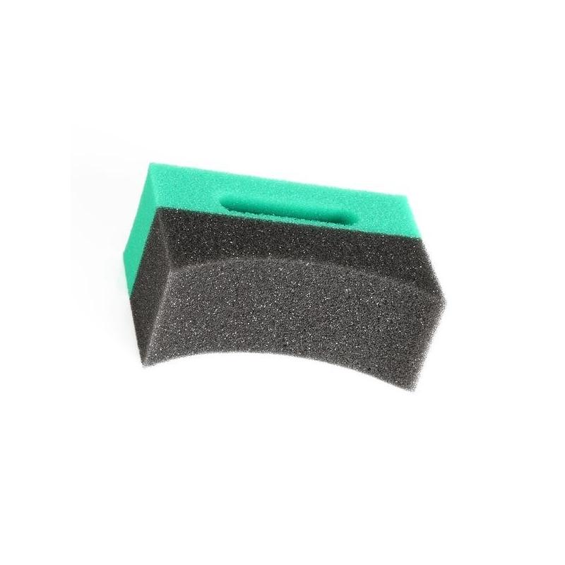 applicator for car tires and plastics